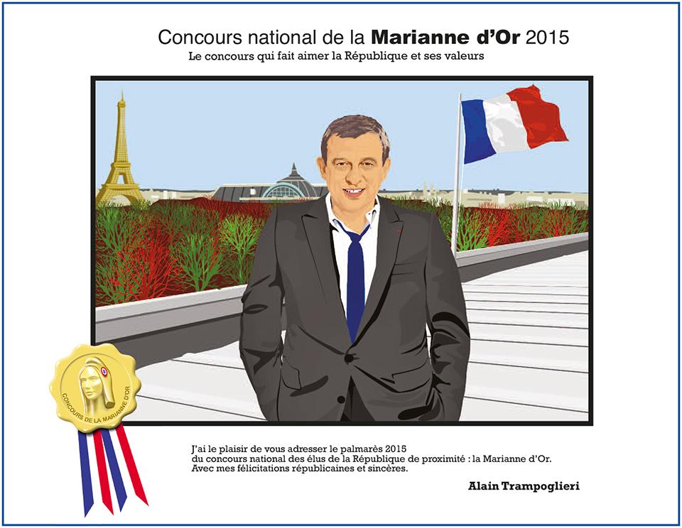 la marianne française 2014